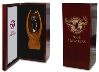 Manly Sea Eagles 2008 Manly Replica Premiership Trophy
