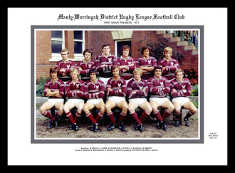 Manly Sea Eagles 1973 Manly