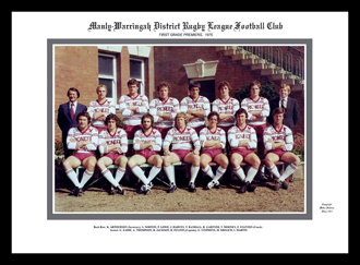 Manly Sea Eagles 1976 Manly