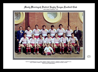 Manly Sea Eagles 1978 Manly