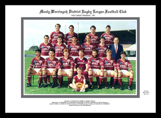 Manly Sea Eagles 1987 Manly