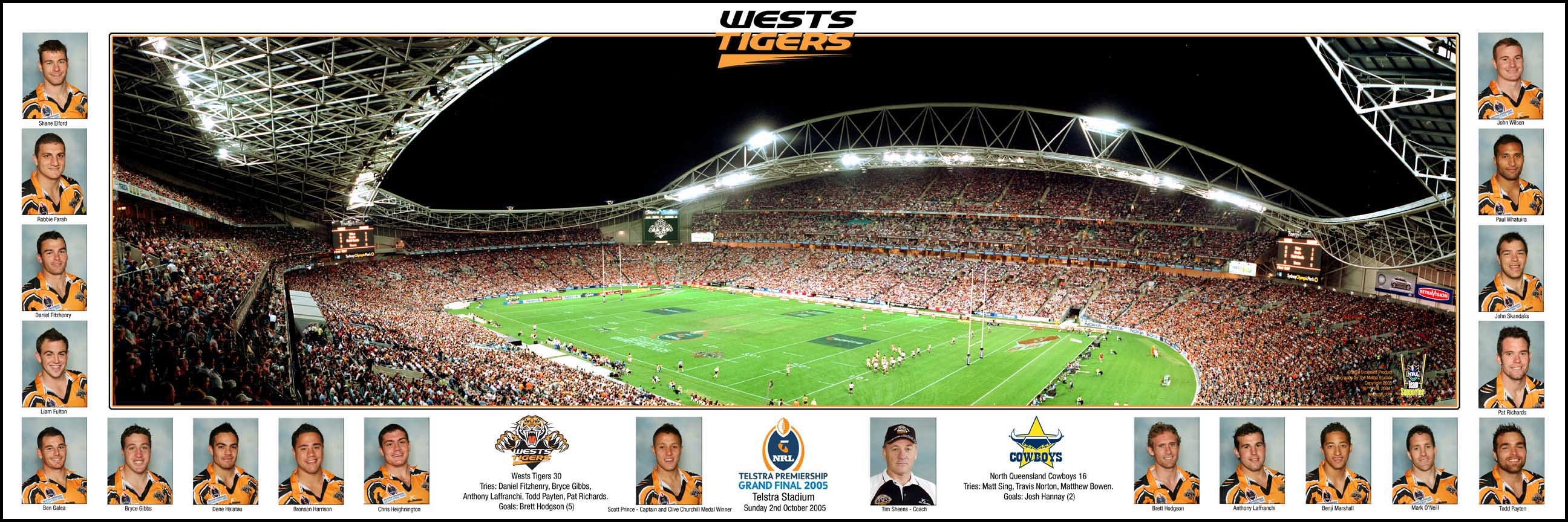 Wests Tigers 2005 Grand Final Ground Panoramic