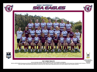 Manly Sea Eagles 2007 Manly