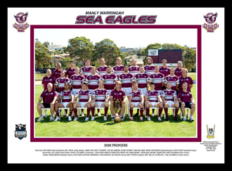 Manly Sea Eagles 2008 Manly