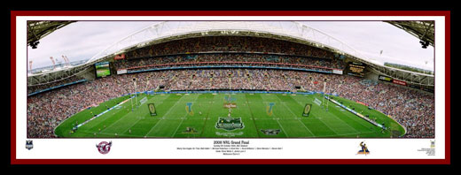 Manly Sea Eagles 2008 Manly Grand Final Panoramic