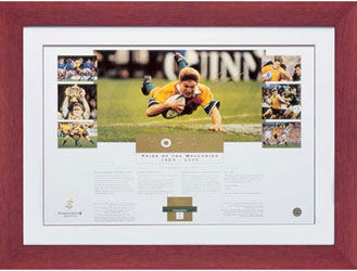 Rugby Union Tim Horan signed Pride of the Wallabies