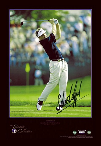 Other Sport Stuart Appleby signed The Fairways Collection