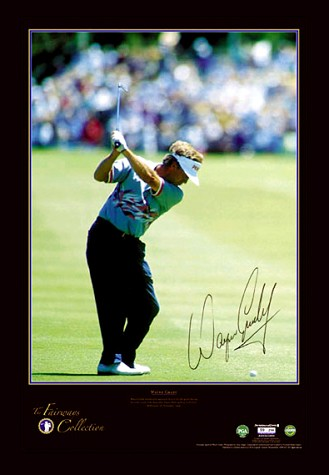 Other Sport Wayne Grady signed The Fairways Collection