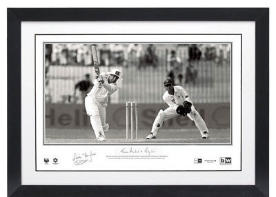 Cricket Mark Taylor signed '334'