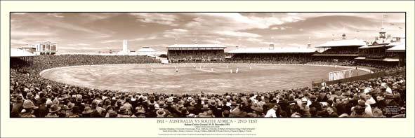 Cricket 1931 Australia v South Africa Panoramic