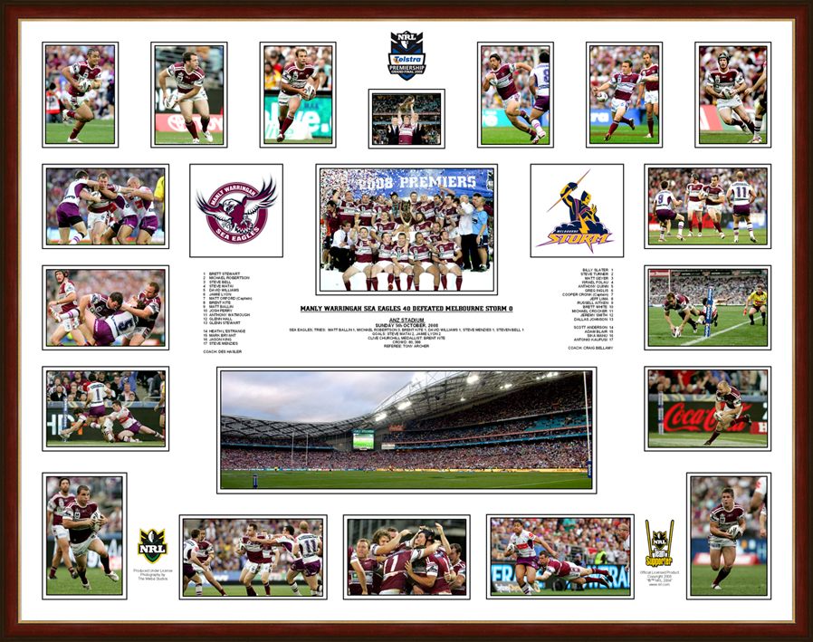 Manly Sea Eagles 2008 Grand Final Composite