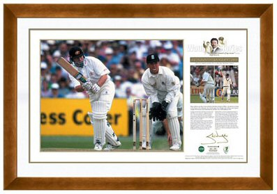 Cricket Steve Waugh signed Waugh Stories II - 'Twin Tons at Old Trafford'