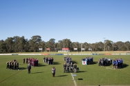 Opening day ceremony